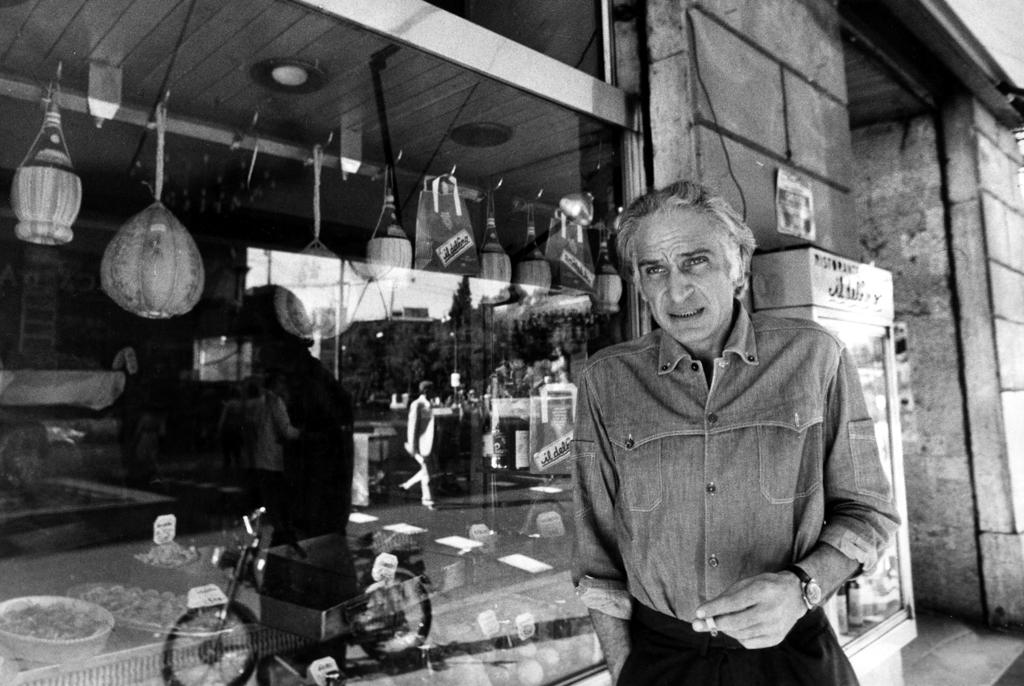 Marco Pannella durante uno sciopero della fame a Roma, nel 1976. - Romano Gentile, A3/Contrasto